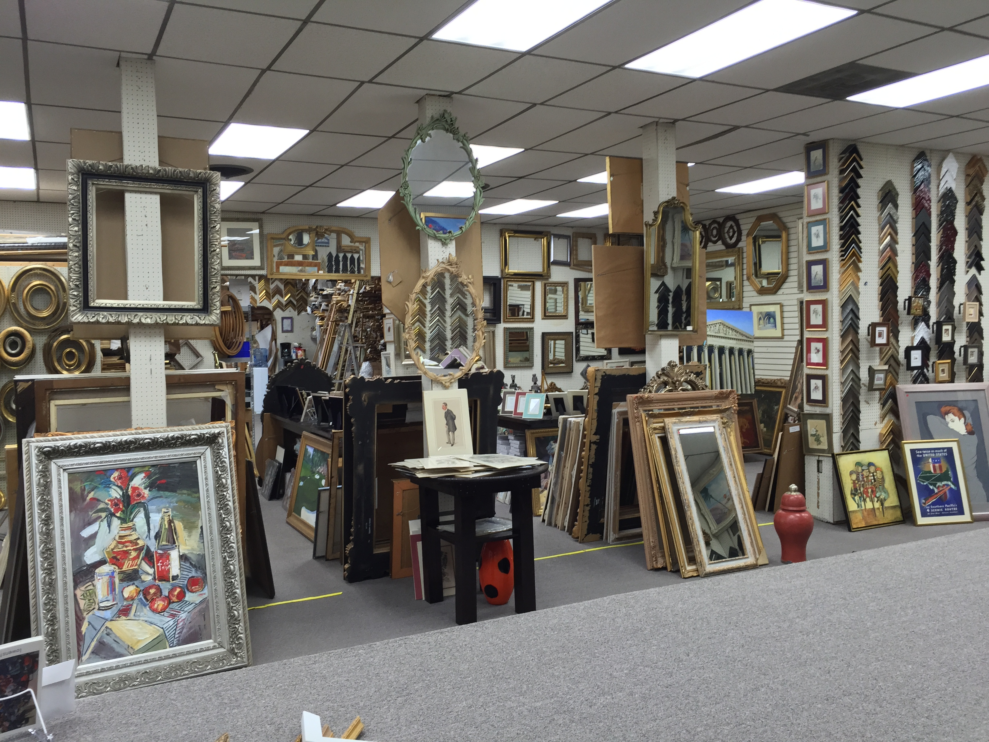 stores custom framing blick art materials framing shop near me